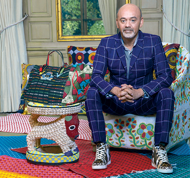 First look: The Christian Louboutin x La Maison Rose bag