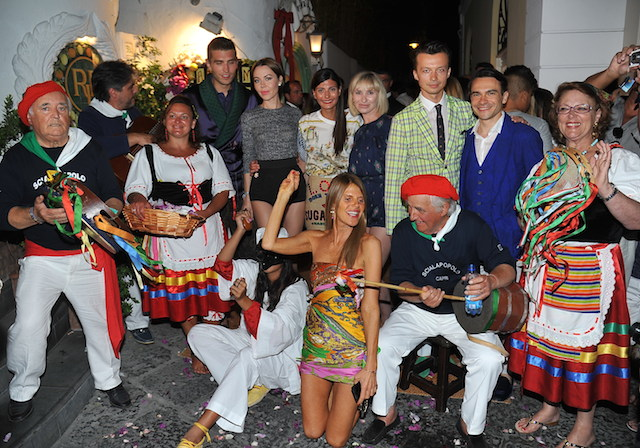 Dolce & Gabbana host Alta Moda show in Capri followed by private party