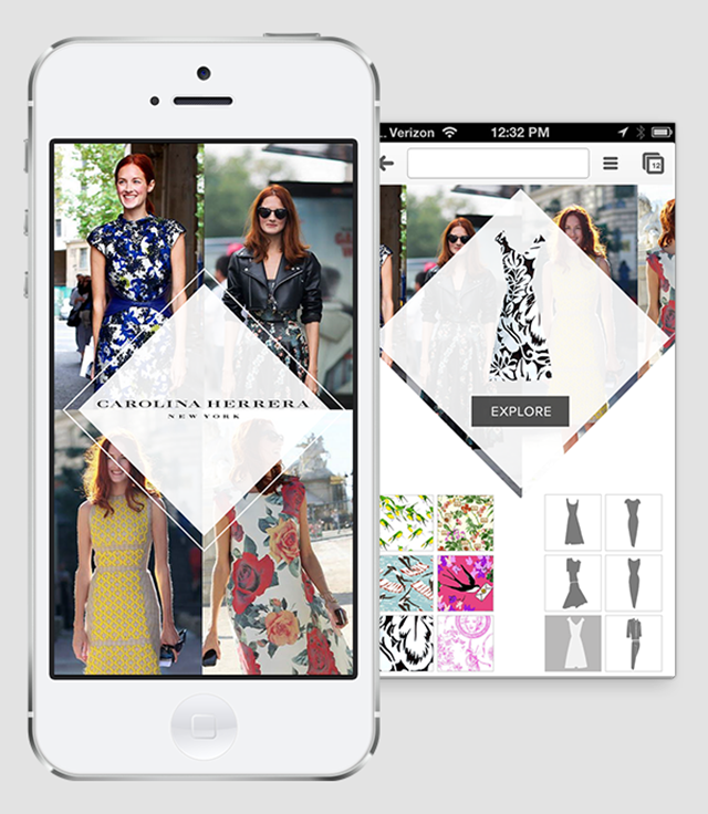 Carolina Herrera taps into the mobile world with new style App