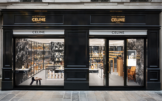 Celine opens new perfume boutique in the heart of Paris