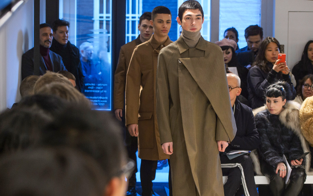 Men's London Fashion Week: Chalayan Fall/Winter '18