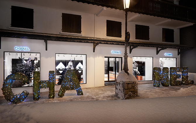 Chanel's annual pop-up boutique in Courchevel is back for 2018