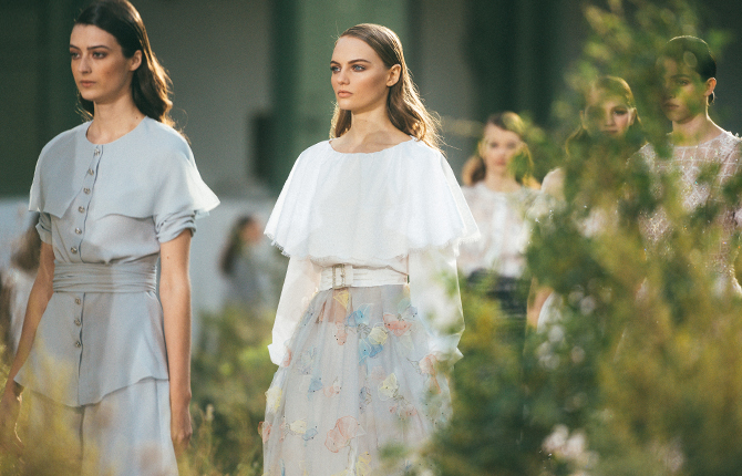 Virginie Viard's new couture collection for Chanel is inspired by Gabrielle Chanel's childhood
