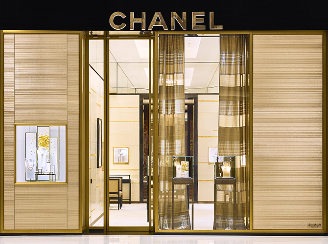 Chanel just reopened its Watches and Fine Jewellery boutique in The Dubai Mall