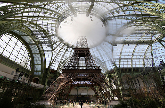 Chanel announced as exclusive sponsor of the Grand Palais renovations