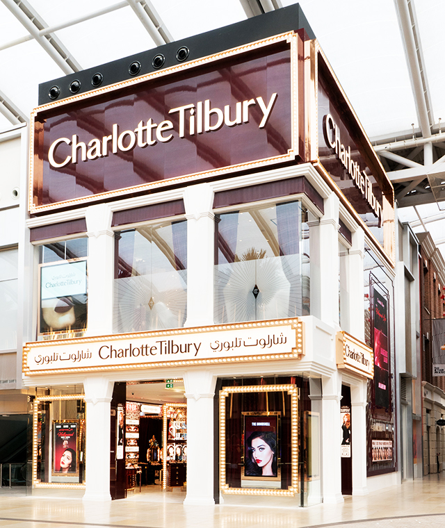 Now open: Charlotte Tilbury launches world's largest store in Kuwait