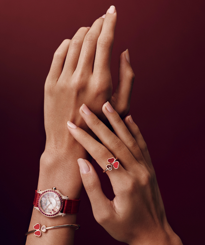 Chopard's latest Happy Sport collection is a new vision of time and beauty