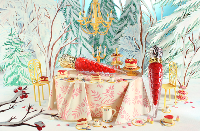 Discover Christian Louboutin's Festive Loubilaque collection