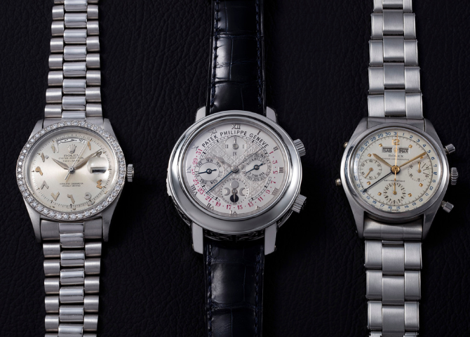 The largest watch auction is taking place in the Middle East