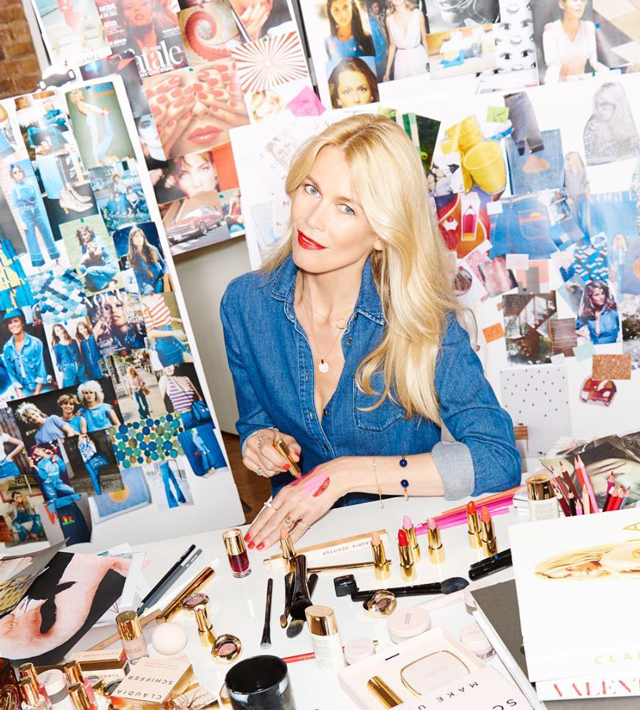Claudia Schiffer is launching her own cosmetics collection