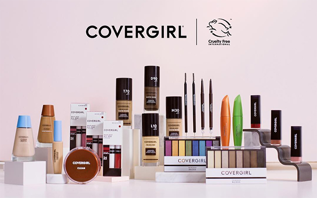 CoverGirl is the largest beauty brand to go cruelty-free