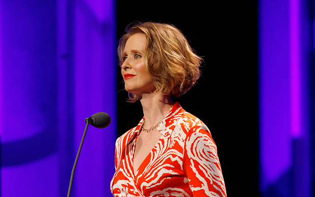 SATC star Cynthia Nixon is running for office