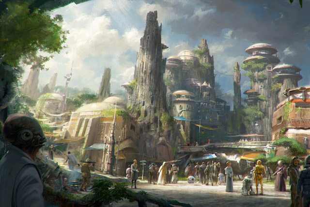 Disney announces new 'Star Wars' lands at two of its leading parks
