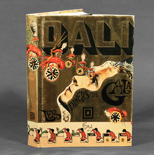 Salvador Dali's artistic cookbook