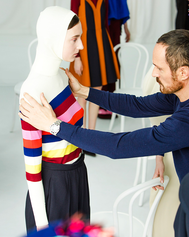 Delpozo Diary part three: How Josep Font styles his collections