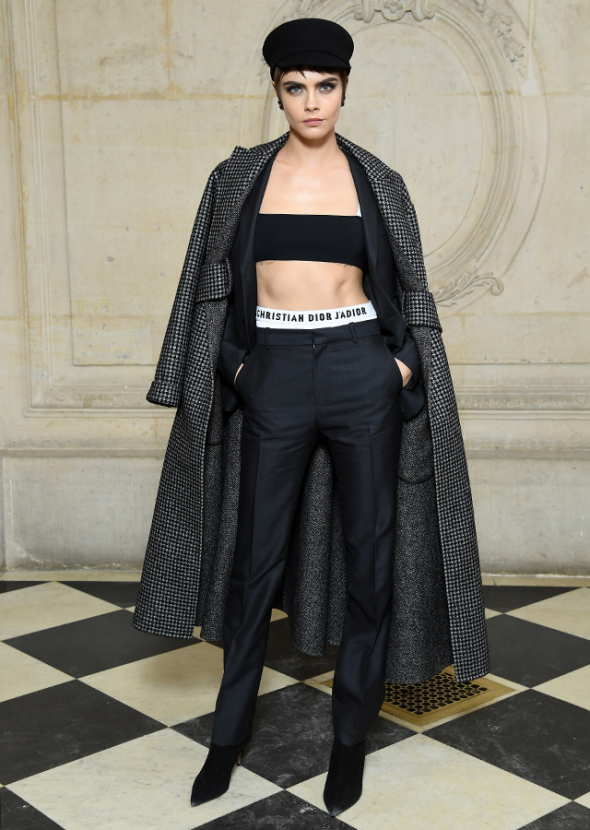 PFW Fall/Winter 2018: Dior front row