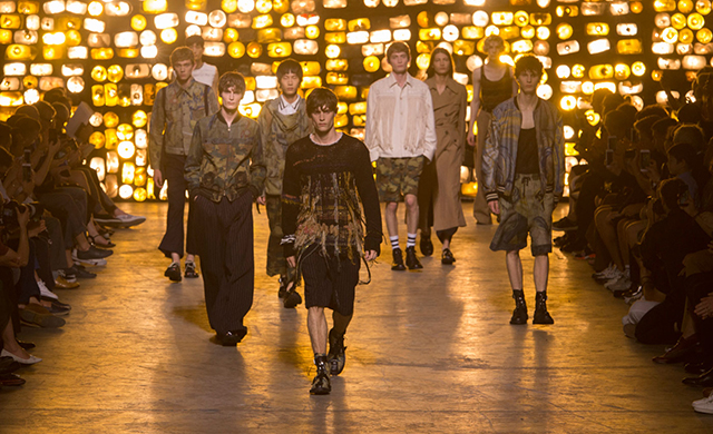 Men's Paris Fashion Week: Dries Van Noten Spring/Summer '17