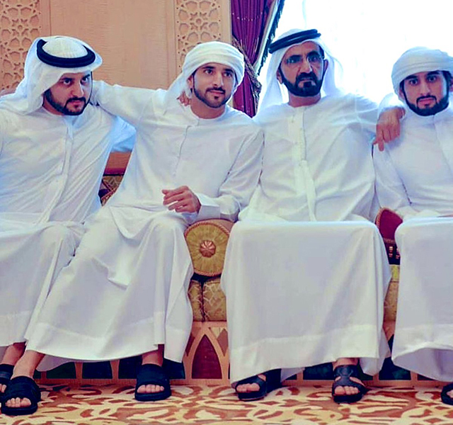 Royal news: HH Sheikh Mohammed bin Rashid Al Maktoum's three sons just got married