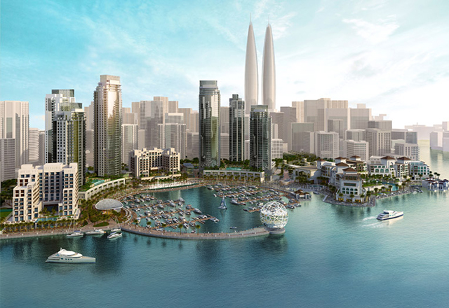Emaar and Dubai Holding to build world's tallest twin towers in new Creek project