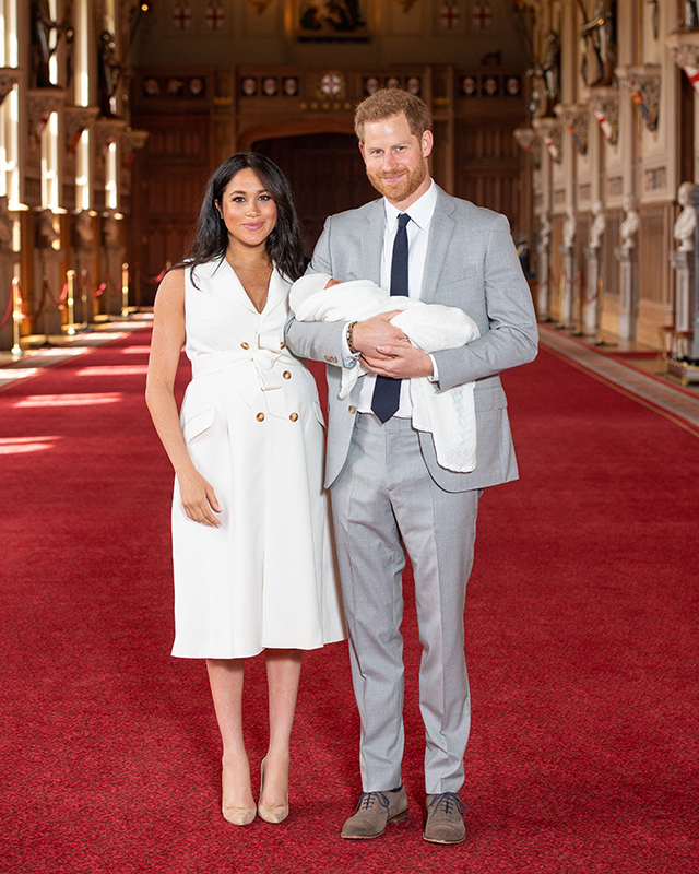 Meghan Markle and Prince Harry are keeping the details of Archie's godparents private