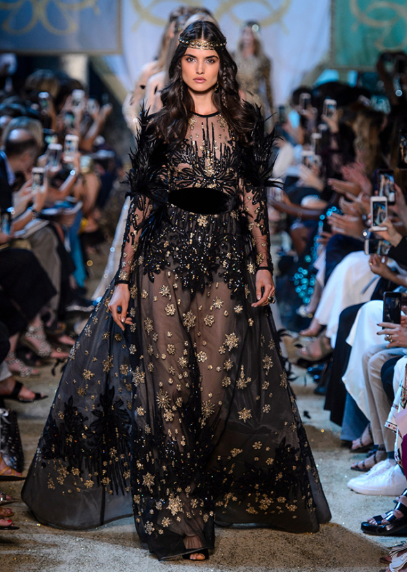Paris Haute Couture Fashion Week: Elie Saab Fall/Winter '17