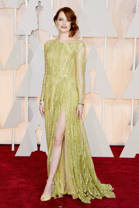 Emma Stone's Oscar gown is going under the hammer for Beirut