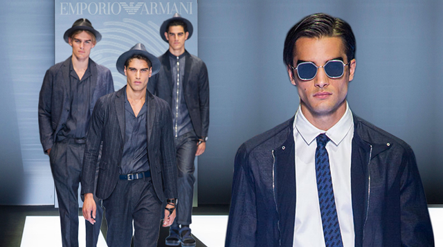 Men s Milan Fashion Week  Emporio Armani Spring Summer  17   Buro 24 7 6f78d0d6c1