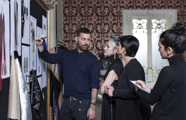 Fausto Puglisi x Marina Rinaldi capsule collection to be shown at Haute Couture week