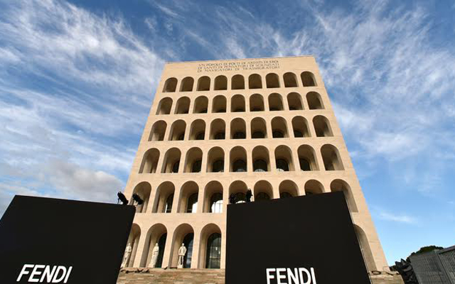 Fendi's new address: Square Colosseum