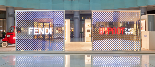 Fendi pops-up at The Dubai Mall