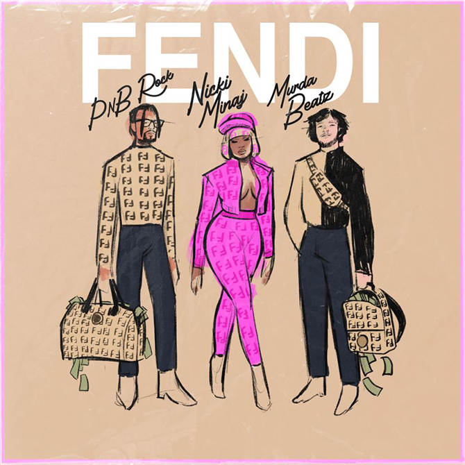 Nicki Minaj fronts Fendi's Prints On capsule collection in a new music video