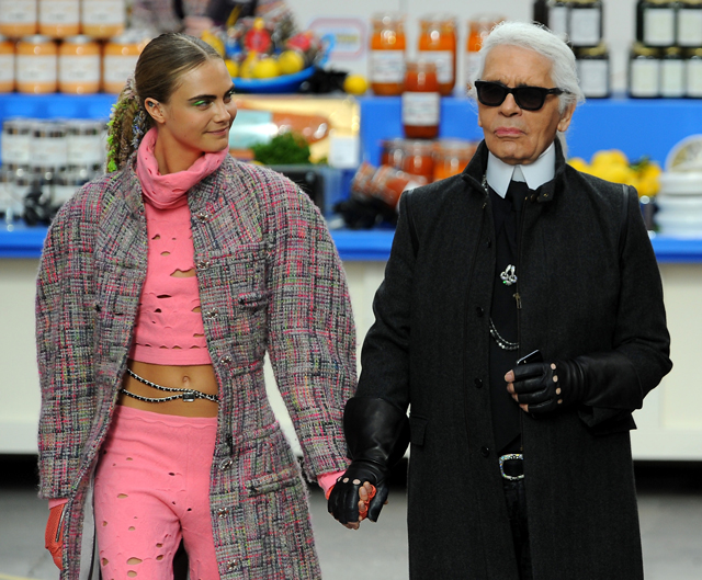 Chanel and Cara collaborate on new eyewear project