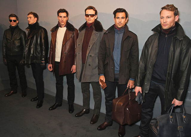 London Men's Collections: Dunhill Fall/Winter '16 presentation