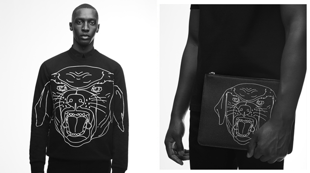 First look: Givenchy's Rottweiler capsule collection for Spring/Summer '17