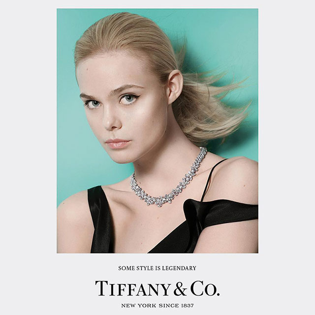 Grace Coddington's first ad campaign for Tiffany & Co.