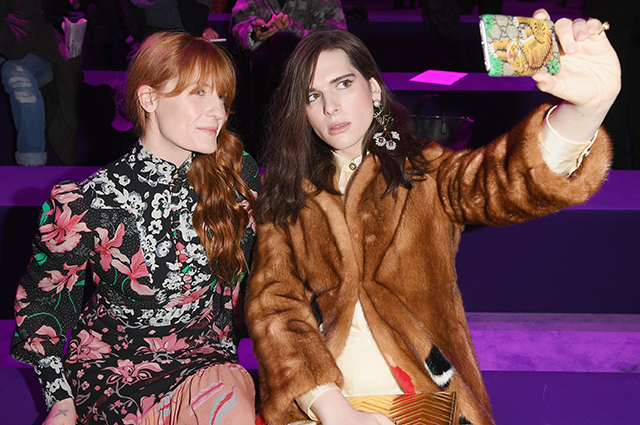 Milan Fashion Week: Gucci front row