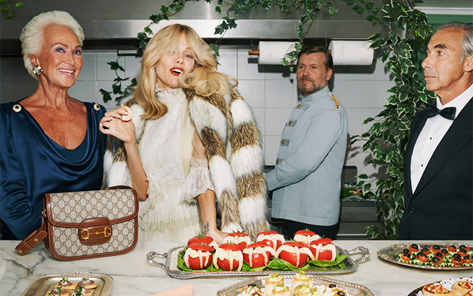 Gucci serves up a party for its Resort 2020 campaign and everyone is invited!
