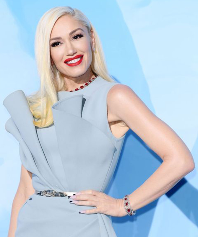 Gwen Stefani shows just why she's a Fashion Icon, in case anyone doubted it!
