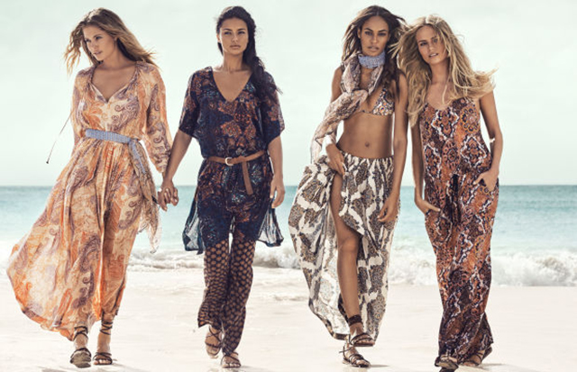 Adriana Lima, Joan Smalls, Natasha Poly and more front H&M campaign