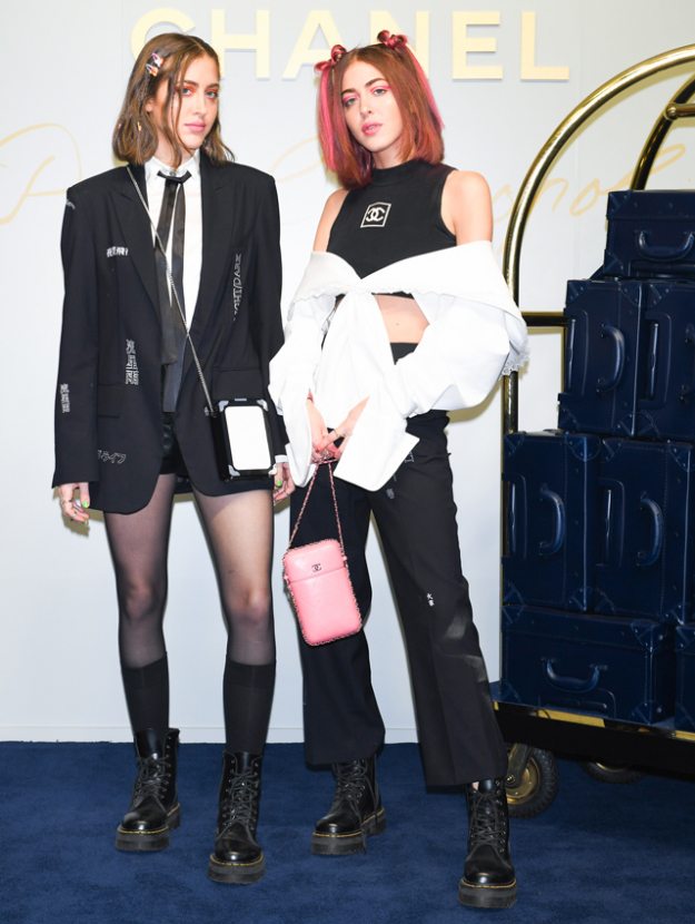 Inside Chanel's Paris Cosmopolite 16/17 Tokyo show: Simi & Haze, Willow Smith, Lily-Rose Depp