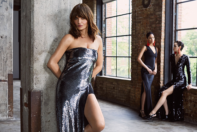 Iconic supermodel Helena Christensen fronts Sachin & Babi's Resort '19 collection
