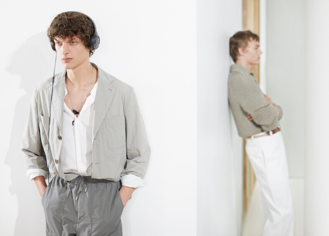 Hermès' new menswear collection boasts simplicity and a timeless casualness