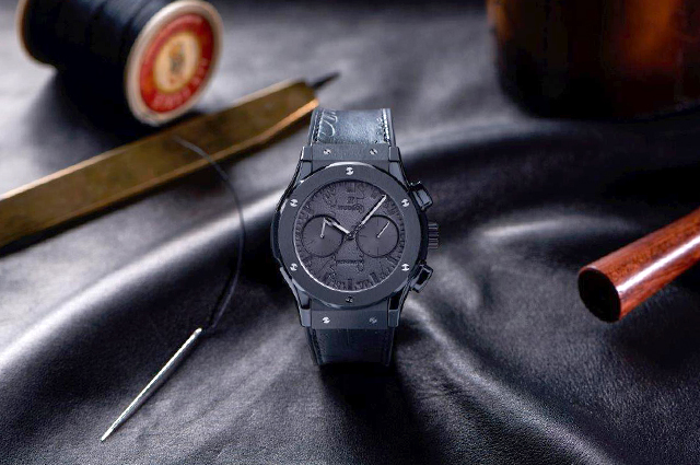 Time check: The Classic Fusion Chronograph Berluti by Hublot