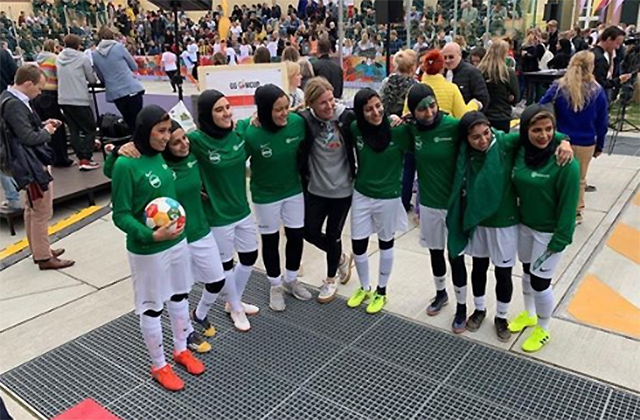 ICYMI: Saudi Arabia's all-girls soccer team in Copenhagen, Netflix's Next in Fashion and Margot Robbie's Sharon Tate moment