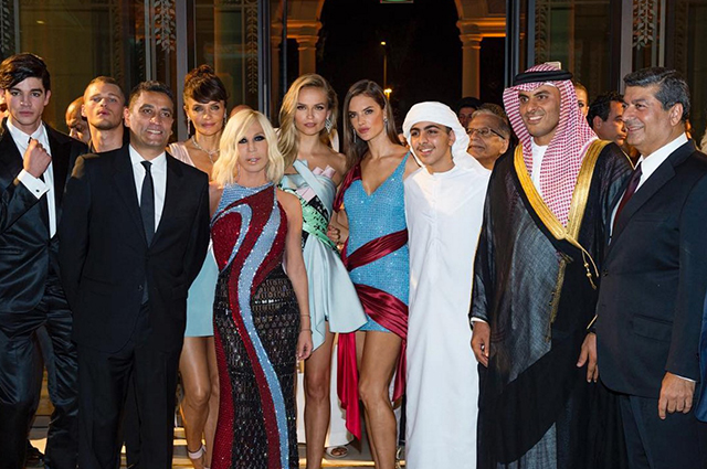 Inside the grand opening of Palazzo Versace Dubai