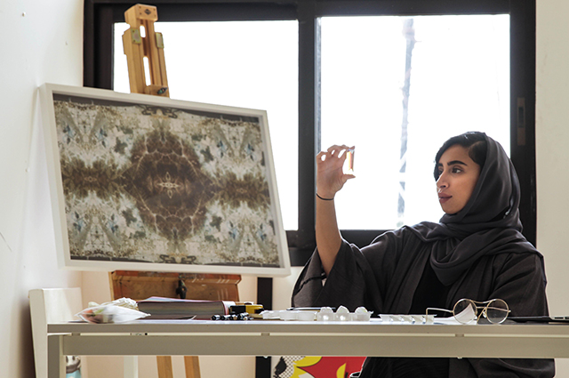 """I can reshape my identity and recreate what is culture\"" – Artist, Zeinab Al Hashemi"
