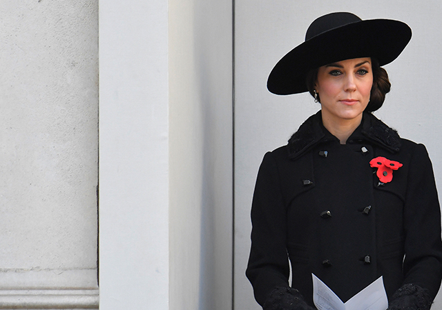 The British royals honour Remembrance Sunday