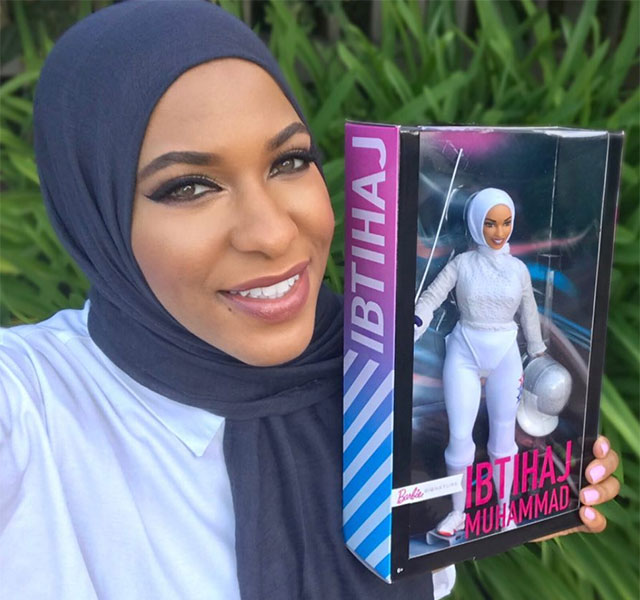 You can finally get your hands on Ibtihaj Muhammad's hijabi Barbie