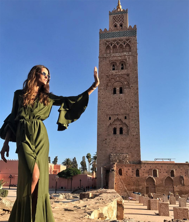 Spotted: Supermodel Izabel Goulart in Morocco