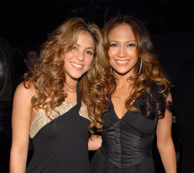 It's happening: Jennifer Lopez and Shakira are announced as headlining acts for the Super Bowl